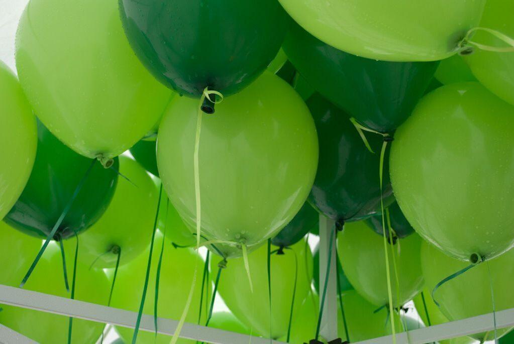 Зеленые открытки с днем рождения, картинки для